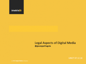 Legal Aspect of Social Media